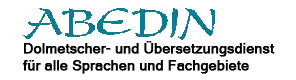 Abedin Dolmetscher- und Übersetzungsdienst